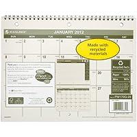 Recycled Desk/Wall Calendar, 8 1/2
