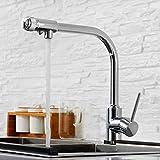 Aawang Küchenarmatur Spülbecken Wasserhahn Küche Spültischarmatur Wasseranschluß Spülmaschine Waschbecken Wasserhahn Chrom
