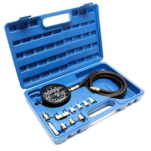 Öldruckprüfer Öldruckmesser Öldrucktester Öl Messgerät Druckprüfer Prüfgerät 0-21 bar