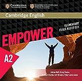 Cambridge English Empower A2: 3 Class audio CDs