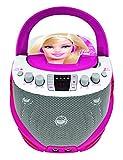 Lexibook - K7000BB - Barbie CD + G-Karaoke-Player
