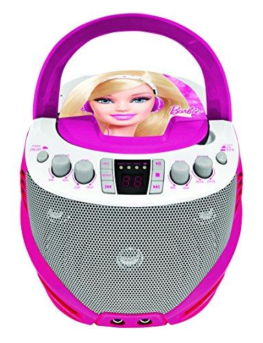 Lexibook - K7000BB - Lecteur CD avec Micro Barbie 3380743040240