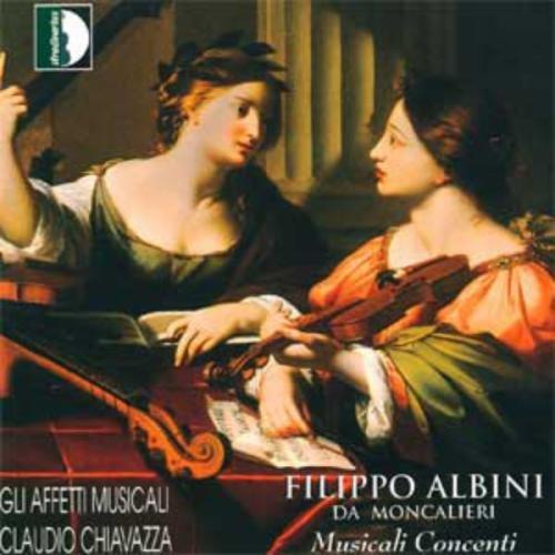 Filippo Albini Da Moncalieri: Musicali Contenti (1623/26)