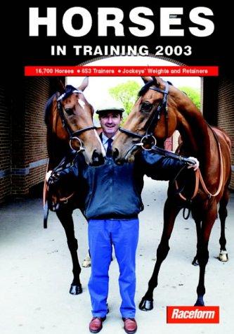 Horses in Training 2003