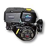 WilTec LIFAN 188- Motor de gasolina (9.5kW, 13cv, 390cc con reductor 2:1, embrague y motor de arranque eléctrico)