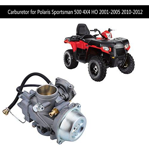 Keenso ATV Vergaser Carb Ersatz für Polaris Sportsman 500 4X4 HO 2001-2005 2010-2012