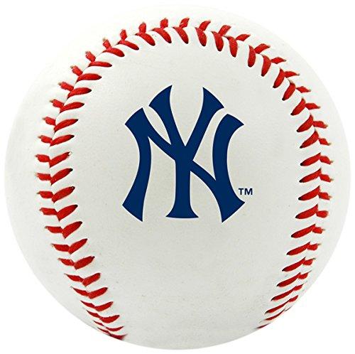 Jarden Sports Licensing Baseball, mit MLB-Teamlogo, weiß (Ball Jarden)