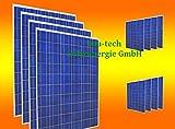 12 Stück 250 Watt Solarmodul Solarpanel Photovoltaik Solarzelle NEU