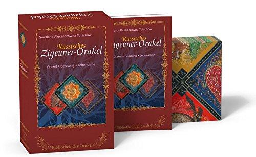 Russisches Zigeuner Orakel: Bibliothek der Orakel (Buch + Karten)