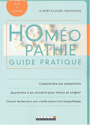 Télécharger Homéopathie : Guide pratique PDF Livre eBook France