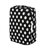 lzn Kofferhülle Kofferschutzhülle Gepäck Cover Reisekoffer Staubdicht Verdickung elastisch für 20-28 Zoll