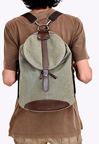 Keshi Leinwand Cool Schulrucksäcke/Rucksack Damen/Mädchen Vintage Schule Rucksäcke mit Moderner Streifen für Teens Jungen Studenten Café