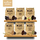 60 Cápsulas de Soluble compatibles Nespresso - kit degustación de 60 cápsulas soluble compatible con maquinas Nespresso - Paquete de 6x10 por un total de 60 cápsules - Il Caffè italiano
