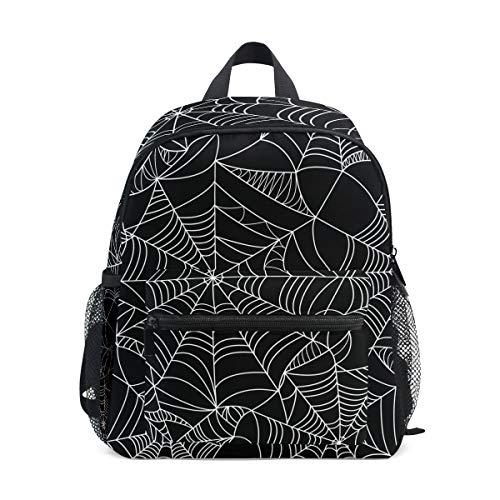 Daypack Halloween Spinnennetz Naht Netz Vorschule Kindergarten Kleinkind Tasche für Reisen Mädchen Jungen ()