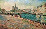 Kunstdruck/Poster: Paul Signac Paris Notre Dame die Insel