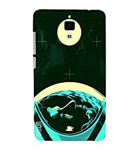Omnam Neil Armstrong On Moon Affect Printed Back Cover Case For Xiomi 4