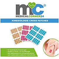 Medicalcorner24 162 Kinesiologie Crosstape,Akupunktur-Pflaster, Gitterpflaster, Cross-Patch Gittertape 2,7 x 2,1... preisvergleich bei billige-tabletten.eu