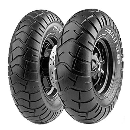 Paire de pneu pneu pirelli SL 90 120/90 - 10 57L 150/80 - 10 65L