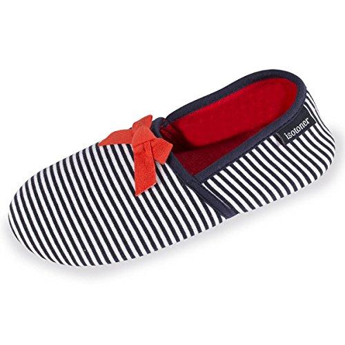 pantuflas-cerradas-de-rayas-para-mujer-isotoner-39-40