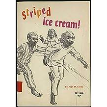 Striped Ice Cream