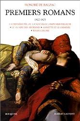 Premiers romans, tome 2 : 1822-1825