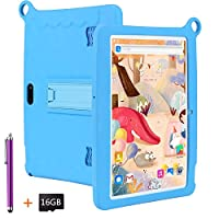 LNBEI Kids Tablet 10.1 inch Display, Kids Mode Pre-Installed, with WiFi, Bluetooth and Games, 16GB SD Card , Stylus Pen , Quad Core Processor, 1280x800 IPS HD Display