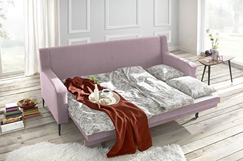 Divano Rosa Cipria : Bobochic bergen divano di coperti convertibile tessuto rosa