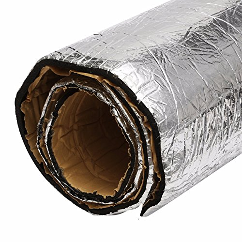JenNiFer 90x100cm Car Sound Proofing Deadener Vehicle Heat Sound Insulation Cotton Thermal Foam Mat -