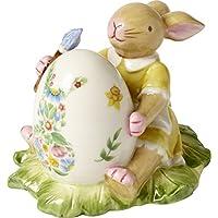 Villeroy & Boch Bunny Family coniglietta dipinge Huevo, Porcelana, Multicolor