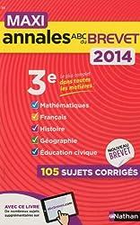 MAXI ANNALES BREVET 2014 N28