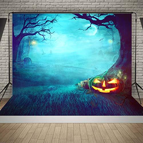 Bluelover 5X7Ft Halloween Friedhof Studio Fotografie Hintergrund Kulisse Fotografie Prop (Halloween Tumblr Hintergrund)