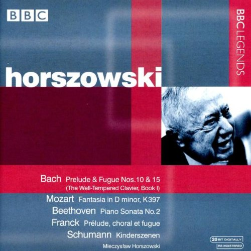 Horszowski Sp.Bach/Mozart/+