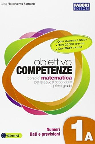 Obiettivo competenze. Vol. 1A-1B. Con quaderno-Prove INVALSI-Extrakit. Per la Scuola media. Con e-book. Con espansione online