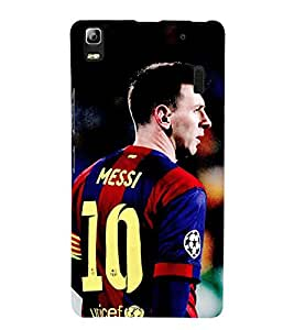 Takkloo Sportsman footballer,player playing football, Sport for everyone, A famous sportsman, amazing picture of a footballer) Printed Designer Back Case Cover for Lenovo A7000 :: Lenovo A7000 Plus :: Lenovo K3 Note
