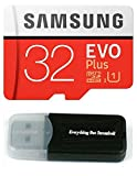 Samsung Galaxy S9Speicherkarte 32GB Micro SDHC Evo Plus Class 10UHS-1S9Plus, S9+, Handy Smartphone mit Alles aber Stromboli (TM) Kartenleser (mb-mc32)