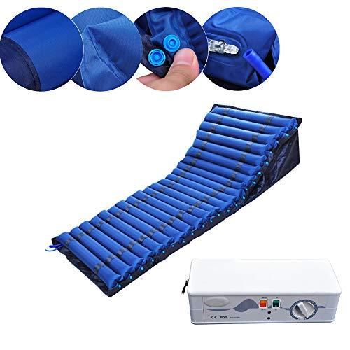 YXMxxm Wechseldruckmatratze mit Pumpe - Matratze mit niedrigem Luftverlust - Anti-Dekubitus-Matratze für Druckgeschwür und Druck Wunde behandlung - Abwechselnd Druck-luft-matratze