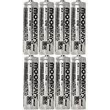 Moonrays 47740SP Rechargeable NiCd AA Batteries For Solar Powered Units, Pack Of 80 Batteries
