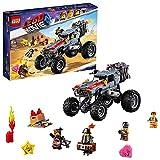LEGO La LEGO Película 2 - Buggy de Huida de Emmet y Lucy, coche todoterreno de juguete divertido de construcción con figura de Barbagris (70829)