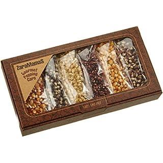 Zaramamas Geschenkbox mit 6 x 90 g Gourmet Popcorn, 1er Pack