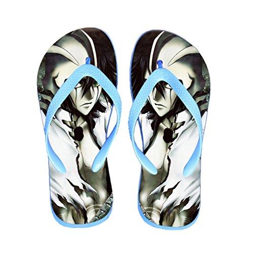 Bromeo Bleach Anime Unisex Flip Flops Zehentrenner Flip Pantoffeln 251