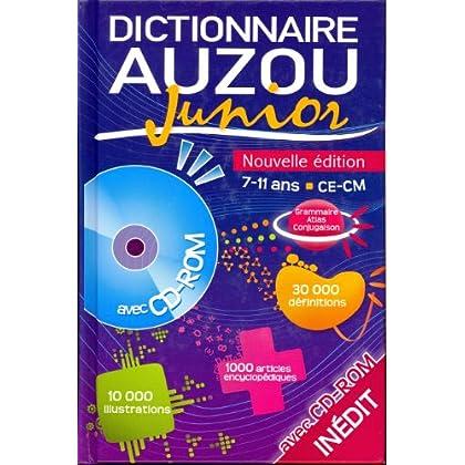 Dictionnaire Auzou Junior (1Cédérom)