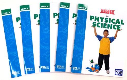 ETA hand2mind, versatiles physikalischen Wissenschaft Aktivität Bücher, erhältlich für Stufe, Niveau 1-8, Grade 4, 5
