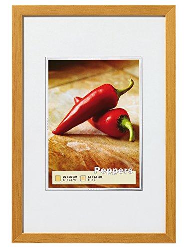 walther design BP030E Peppers Bilderrahmen, Holz, eiche, 20 x 30 cm