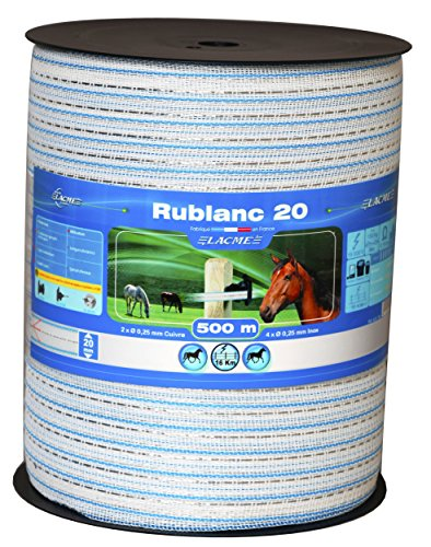 Rublanc 20mm/500m bobine rb20