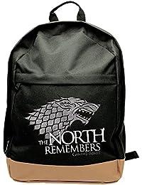 """Juego de Tronos abybag14945cm """"casa de Stark, El Norte recuerda""""–Mochila (tamaño grande)"""