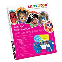 Ultimate Party Pack Snazaroo Makeup Kit Face Paint Fancy Dress Halloween