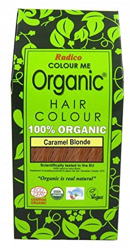 Radico Colour Me Organic Pflanzenhaarfarbe Karamell-Blond (bio, vegan, Naturkosmetik) KaramellBl