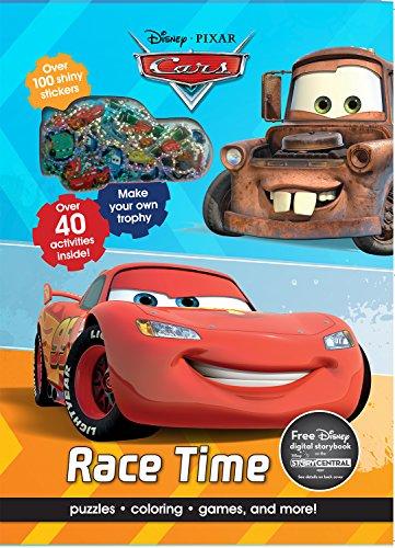 Race Time (Disney Pixar Cars and Planes) por Parragon Books Ltd