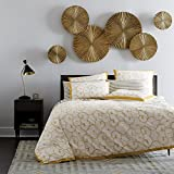 #7: 100% Brass 6 pcs Sunburst Golden Color Handmade Metal Wall Art Sculpture Wall Decor and Hanging …