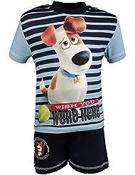 T-shirt Mangas cortas con Pantalones cortos The Secret Life of Pets Niños Max